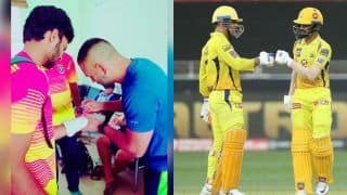 Csk batsman shahbaz nadeem posts throwback pic with ms dhoni 4197390