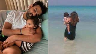 रोहित शर्मा खाली वक्त में बेटी समायरा संग समुद्र किनारे कर रहे हैं डॉल्फिन संग मस्ती, रितिका ने कहा...