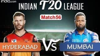 IPL 2020 Live Cricket Score SRH vs MI, Today's Match 56 Live Updates, Sharjah: Can Warner Lead Hyderabad Into Playoffs?