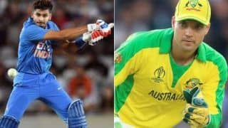 India vs australia shreyas iyer can lead team india one day says alex carey 4213624