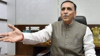 Gujarat By-Poll Results 2020: 'Congress is a Sinking Ship', Says Vijay Rupani After BJP Leads on All 8 Assembly Seats