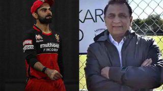 IPL 2020: आरसीबी की हार के लिए विराट कोहली जिम्मेदार: सुनील गावस्कर