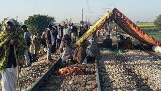 Gurjar Aandolan Updates: आरक्षण को लेकर गुर्जरों का प्रदर्शन, कई ट्रेनों के बदले गए रूट तो कई गाड़ियां हुईं कैंसिल, देखें लिस्ट