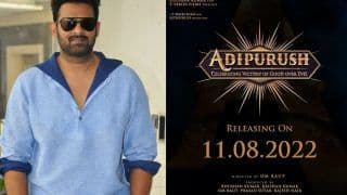 Adipurush Movie News: Prabhas And Saif Ali Khan Starrer to be Big Independence Day Release 2022