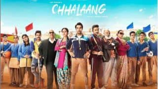 Chhalaang Full HD Available For Free Download Online on Tamilrockers And Other Torrent Sites