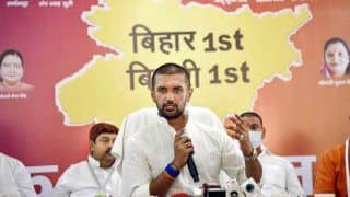 Chirag Paswan Removed as Lok Janshakti Party Chief; Says Party Like Mother, Should Not be Betrayed