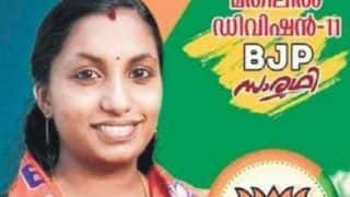 Vote For Corona? Meet Corona Thomas, BJP's Candidate For Kerala Local Body Polls Who's Going Viral For Her Unique Name!