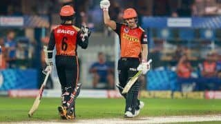 IPL 2020: 'Never Say Die Attitude' Behind Sunrisers Hyderabad's Turnaround