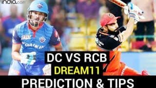 DC vs RCB Dream11 Team Prediction IPL 2020: Captain, Vice-Captain, Fantasy Playing Tips, Probable XIs For Today's Delhi Capitals vs Royal Challengers Bangalore T20 Match 55 at Sheikh Zayed Stadium, Abu Dhabi 7.30 PM IST November 2 Monday