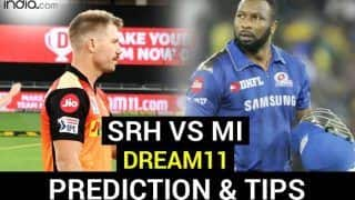 SRH vs MI Dream11 Team Prediction IPL 2020: Captain, Vice-Captain, Fantasy Playing Tips, Probable XIs For Today's Sunrisers Hyderabad vs Mumbai Indians T20 Match 56 at Sharjah Cricket Stadium 7.30 PM IST November 3 Tuesday