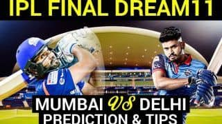 MI vs DC Dream11 Team Hints And Predictions, IPL 2020 Final: Captain, Vice-captain, Fantasy Playing Tips, Probable XIs For Today's Mumbai Indians vs Delhi Capitals at Dubai International Cricket Stadium 7.30 PM IST November 10 Tuesday