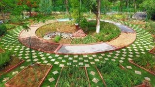 Therapeutic Garden Panchatatva Opens in Hyderabad's Indira Park