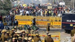 Farmers' Protest: Concrete Barriers at Delhi-Ghaziabad Border Point as More Join Protest