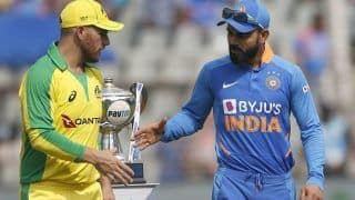 India vs Australia 2020 Highlights, 1st ODI, Sydney Cricket Ground: All-Round Australia Beat India by 66 Runs to Take 1-0 Lead in Series