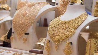 सोने के भावः हाजिर बाजार में सोने के भाव स्थिर, चांदी 451 रुपये चढ़ी