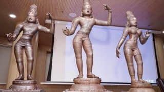 15th Century Bronze Idols Stolen From Ancient Tamil Nadu Temple Recovered in London