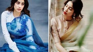 Janhvi Kapoor Is An Epitome Of Grace And Beauty In Her New Pictures, Channels Retro Vibes