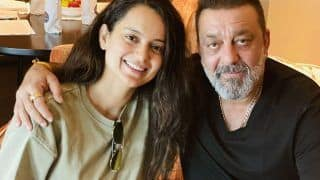 Kangana Ranaut Meets Sanjay Dutt in Hyderabad, Says 'He Looks Even More Healthy And Handsome'