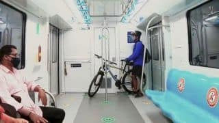 Good News For Cyclists! Now You Can Carry Your Cycles Inside A Metro