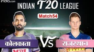 Live ipl score 2020 kkr vs rr live updates ball by ball commentary of kolkata knight riders vs rajasthan royals at venue dubai international cricket stadium dubai 4193729