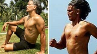Milind Soman Promotes Body Positivity by Stripping Down To 'Nothing' On His Birthday