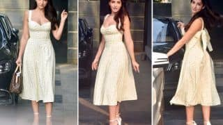 Nora Fatehi Spotted in a Simple Dress Worth Rs 2,000 - Now That's Something Affordable!