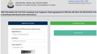 SSB ASI Stenographer Admit Card 2020 Released: SSB ने जारी किया ASI Steno 2020 का एडमिट कार्ड, इस Direct Link से करें डाउनलोड