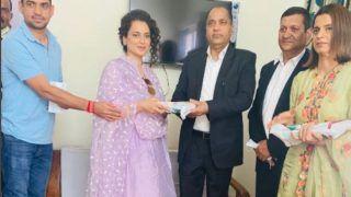 Kangana Ranaut Extends Her Brother's Wedding Invite To 'Friend' And HP CM Jairam Thakur