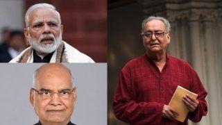 सौमित्र चटर्जी के निधन पर राष्ट्रपति कोविंद, पीएम मोदी ने जताया शोक, गृहमंत्री अमित शाह ने भी किया याद