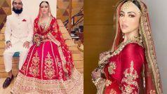 मुफ्ती अनससे शादी के बाद सना खान ने बदला अपना नाम, वलीमा की तस्वीरें हुईं VIRAL