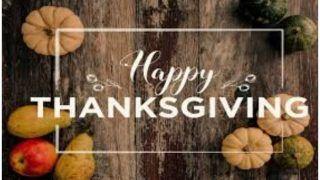 Thanksgiving Day 2020: जानें क्यों मनाया जाता है थैंक्सगिविंग डे, इस मौके पर दोस्तों और प्रियजनों को भेजे ये SMS और कोट्स