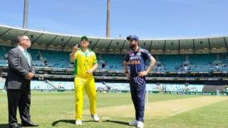 India vs Australia 2020,1st ODI: Hardik Pandya Back For Tourists as Aaron Finch Opts to Bat First in Sydney