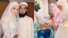सना खान और मुफ्ती अनस की शादी की Unseen Pics हो रही है VIRAL, कैसी लगी आपको ये जोड़ी?