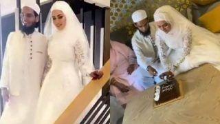Sana Khan Wedding: बॉलीवुड छोड़ने के बाद सनाखान ने मुफ्ती अनससे रचाई शादी, देखिए VIDEO