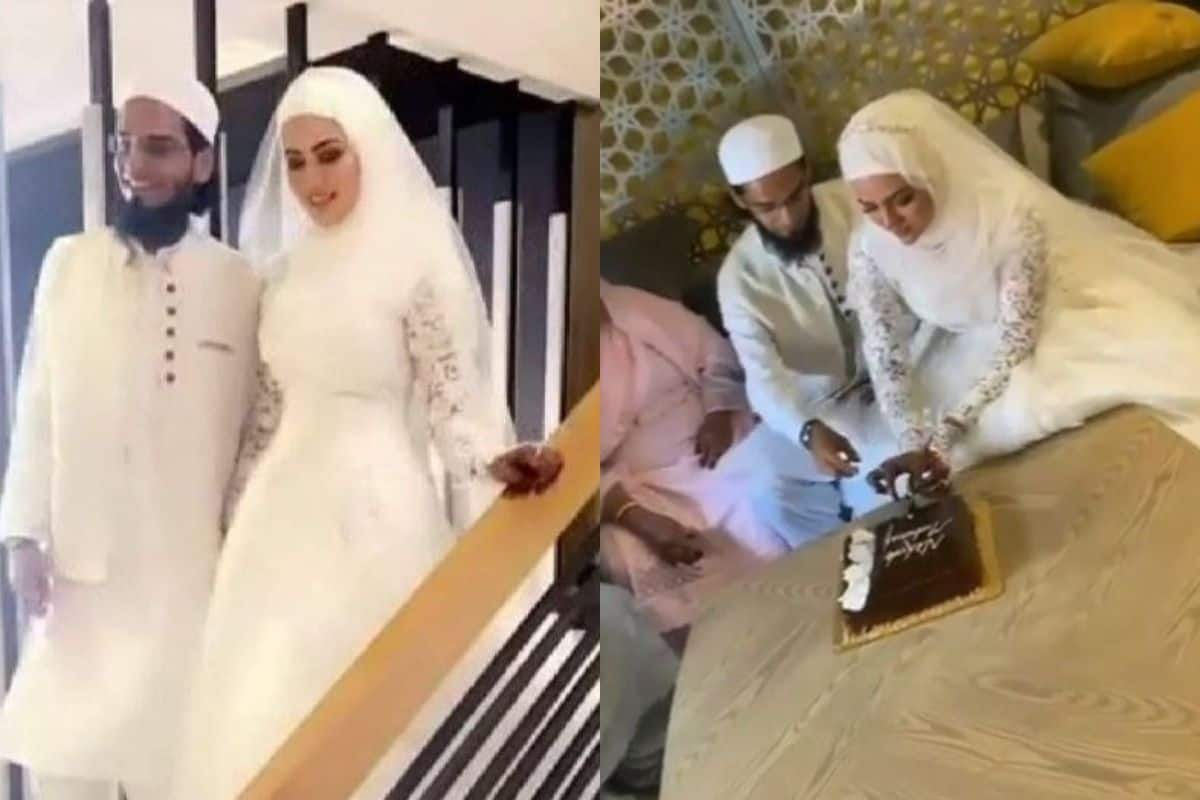 After Quitting Showbiz, Sana Khan Gets Married To Mufti Anaas in Intimate  Wedding, Pics Surface | India.com
