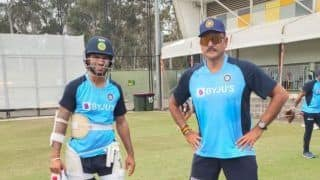 India vs Australia 2020: Team India Head Coach Ravi Shastri shares pictures from training session