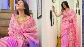 Sushmita Sen is an Epitome of Grace in This Traditional Manipuri Saree, See Her Mesmerising Pics Here
