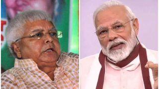 Bihar Elections 2020: RJD प्रमुख लालू यादव का PM मोदी पर हमला, 'यह डबल इंजन नहीं ट्रबल इंजन सरकार'