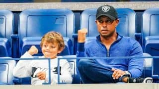 Tiger Woods to Team up With Son Charlie in December Tournament