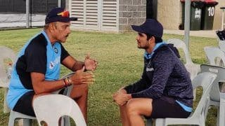 Shastri Enjoys 'Good Conversation' About Cricket With Shubman Ahead of Australia ODIs