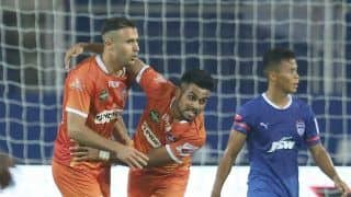 ISL 2020-21: Igor Angulo's brace helps FC Goa hold Bengaluru FC to 2-2 draw