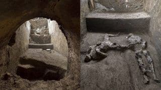 Pompeii Archaeologists Discover Bodies of Men Killed in Volcanic Eruption Nearly 2,000 years Ago