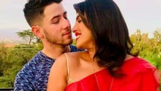 Priyanka Chopra Celebrates Karwa Chauth With Nick Jonas in Los Angeles, Shares Loved-up Pictures in Red