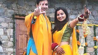 Priyanshu Painyuli-Vandana Joshi's Haldi, Mehendi Pics: Mirzapur 2 Star Ties The Knot in Traditional Wedding Ceremony