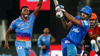 IPL 2020: Kagiso Rabada Reclaims Purple Cap, Shikhar Dhawan Eyes Orange Cap