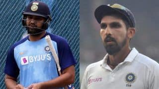 IND vs AUS: Ishant Ruled Out of Test Series, Rohit Still in Contention; Natarajan Added to ODI Squad