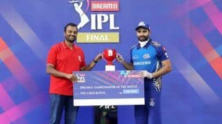 IPL 2020 Final, MI vs DC: From MVP to Emerging Player, Here's Complete List of Award Winners