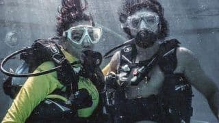 'Breathe With Me'! Farhan Khan, Shibani Dandekar's Loved-Up Underwater Pictures Are Full of Romance