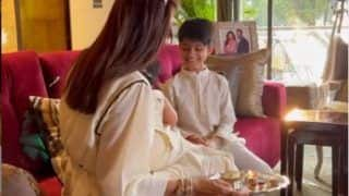 Shilpa Shetty Shares Adorable Video of Children Viaan Raj And Samisha as They Celebrate First Bhai Dooj