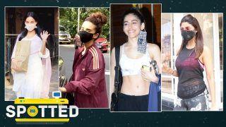 Shilpa Shetty, Alaya F, Sanya Malhotra, Kriti Kharbanda, Dhvani Bhanushali Spotted by Paps
